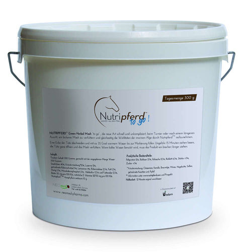 Nutripferd to go! 10 kg bucket